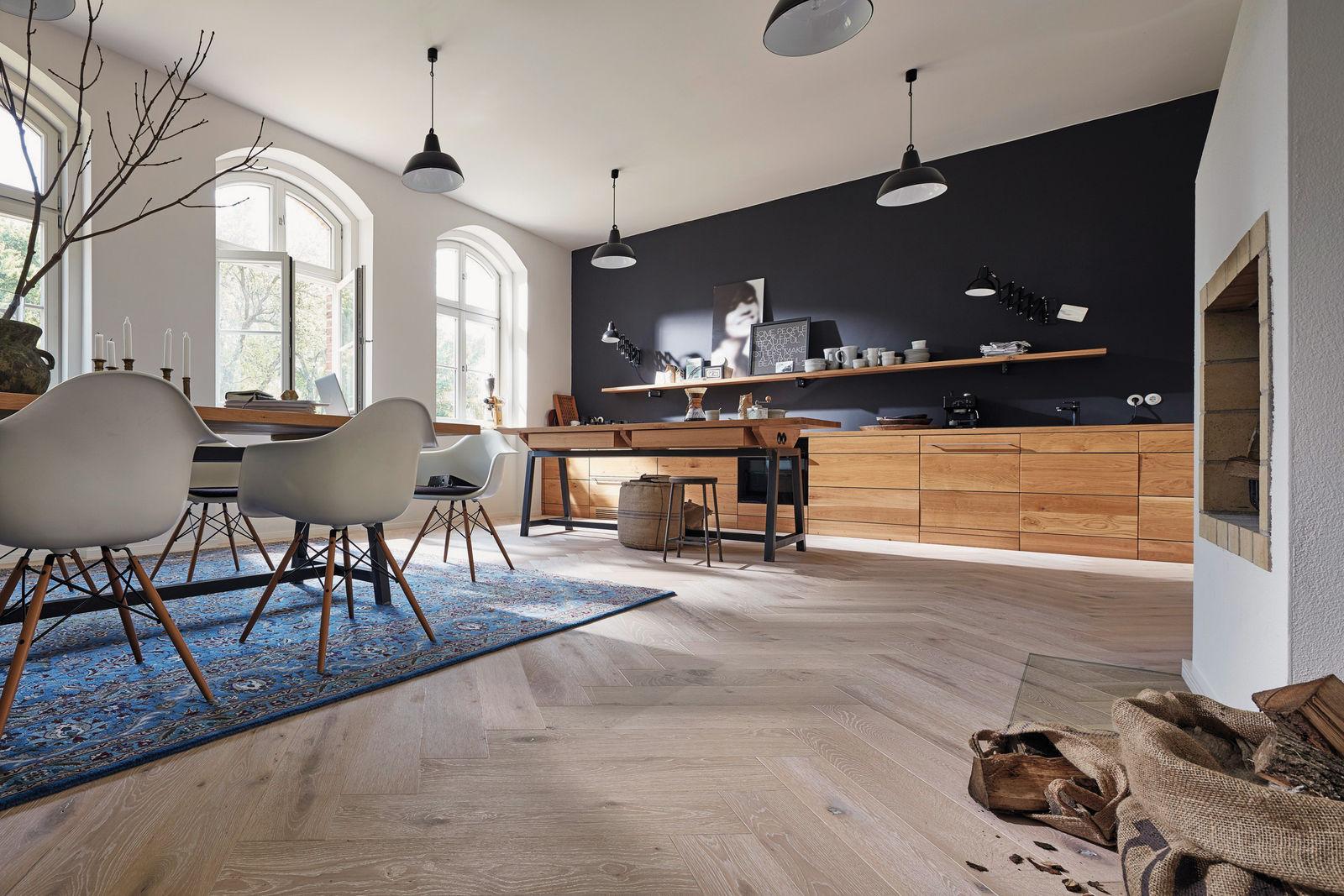 Holz Bringt Leben In Die Stube Das Einfamilienhaus