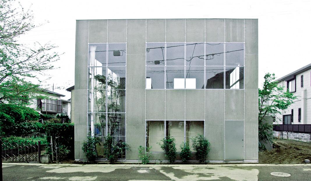 das einfamilienhaus pflanzen geh ren zur architektur dazu. Black Bedroom Furniture Sets. Home Design Ideas