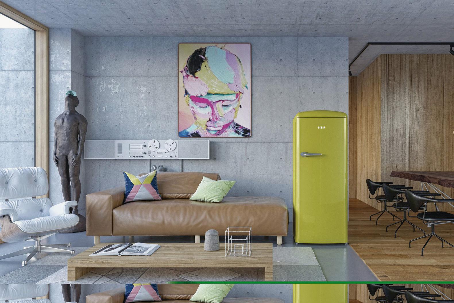 Retro Look Kühlschrank : Retro kühlschrank bringt stimmung und zauber in die küche mit